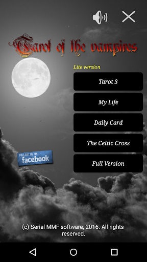 Tarot of the vampires lite 2.31 Vampires lite screenshots 1