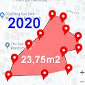 Land Area Calculator – Distance Calculator Map icon