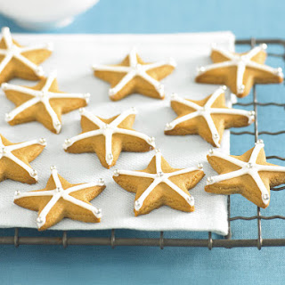 Ginger Star Cookies.