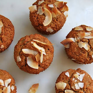 Banana Coconut Muffins.