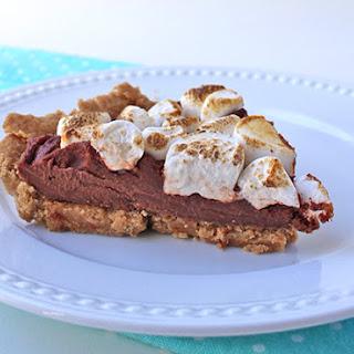 Vegan S'Mores Cream Pie