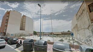 Solar en la Avenida de Montserrat, número 48, donde Sareb planea una promoción  urbanística.