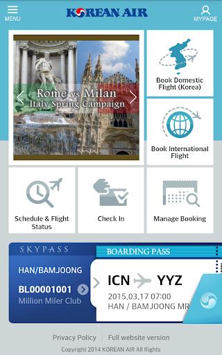 Korean Air screenshot 1