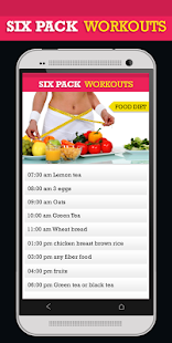 Six Pack Workouts and Diet - náhled