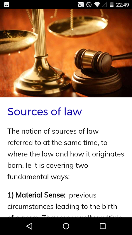 Law Course- screenshot
