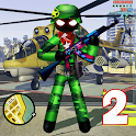 US Army Counter Stickman Rope Hero Crime OffRoad 2 icon