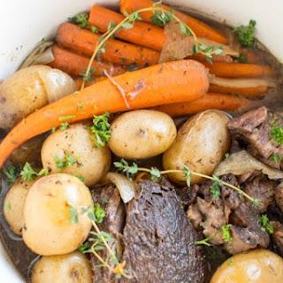 Slow Cooker Balsamic Roast