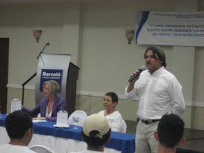 Photo: Sr. Rafael Henríquez Gerente de Programa de Fondo Común Clausura de Feria de Aprendizaje