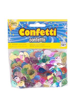 Konfetti, ballonger