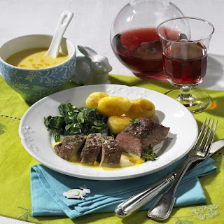 Lamb Roast with Apricot Sauce