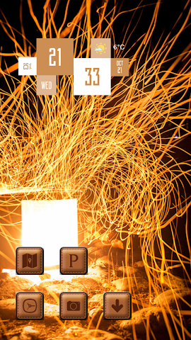 android Invisible flame Screenshot 2