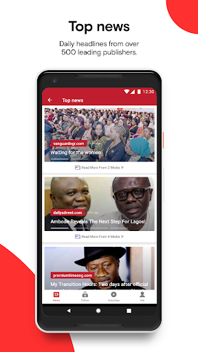 Opera News - Trending news and videos 5.3.2254.134679 screenshots 3