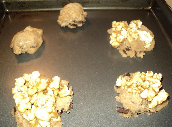 Bake at 350 for 10-13 minutes or until cookies are golden brown. Caramel corn...