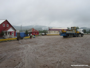 Photo: Our hotel and cafe/ truck stop