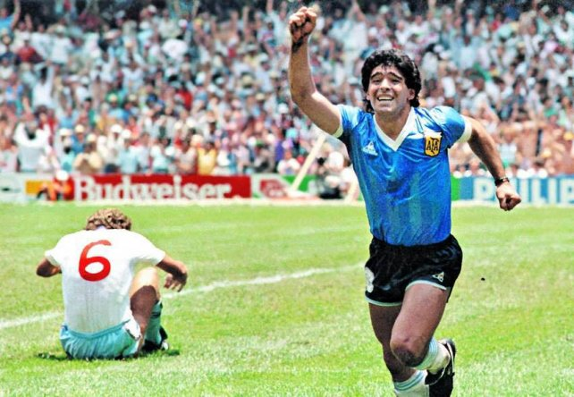 Image result for maradona mundial 86