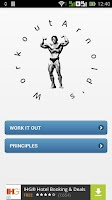 Screenshot of Arnold's Workout