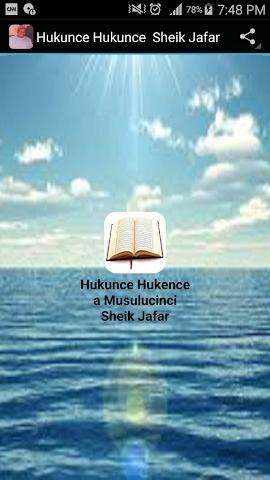 android Hukunce Hukunce Sheik Jafar Screenshot 0