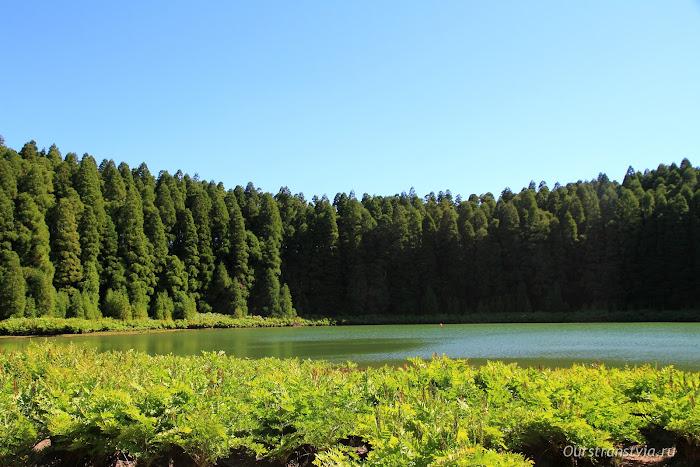 Канарское озеро на Азорах