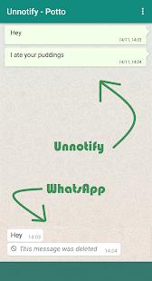 Unnotify - náhled