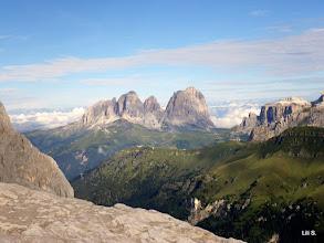 Photo: Pogled na Sassolungo  -  3181 m n/v