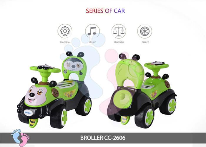 Xe chòi chân trẻ em Broller CC-2606 4