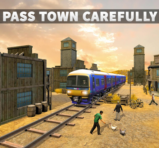 Real Train Driving Simulator: Railway Driver 2019  screenshots 9