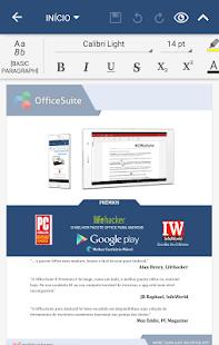 OfficeSuite Pro + PDF (Trial): miniatura da captura de tela