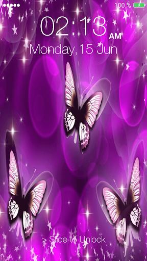 蝴蝶针屏幕锁定