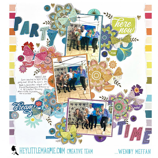 PARTY TIME ! – PAIGE EVANS – WONDERS COLLECTION – WENDY MEFFAN