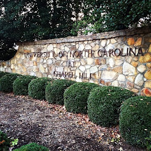 Photo: Spending a little time in Chapel Hill this week.