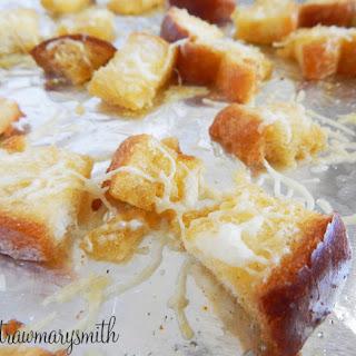 Homemade Parmesan Croutons