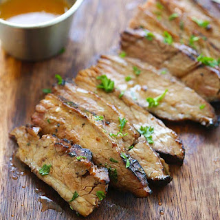 Honey Sriracha Flank Steak