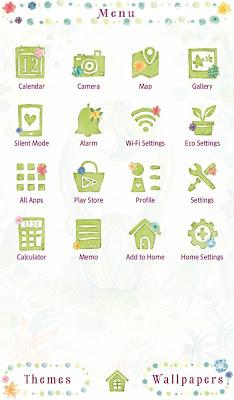 "Free ""My Sweet Cactus"" Theme - screenshot"