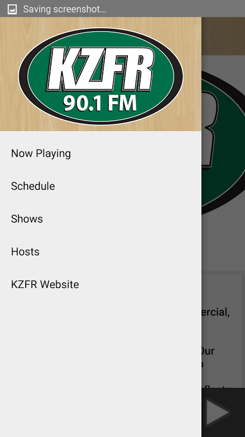 KZFR Radio- screenshot