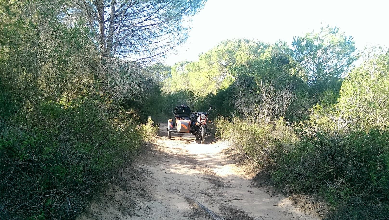 rutas en moto por Cerdeña Italia