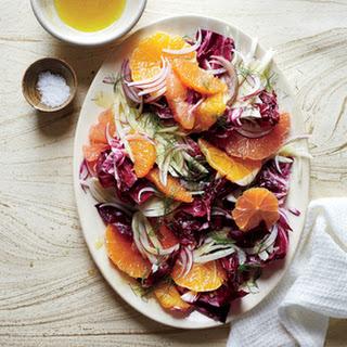 Fennel and Radicchio Salad with Citrus Vinaigrette Recipe