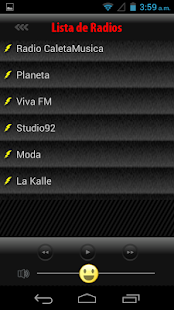 Radios de Peru- screenshot thumbnail