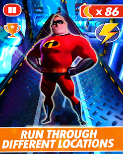 MR INCREDIBLE RUN - náhled