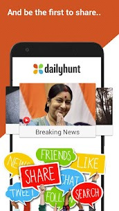 Dailyhunt (Newshunt) Latest News, Viral Videos 10.2.7 Cracked Apk (Ad Free) Latest Version Download 6