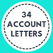 34 Account letter for better communication APK