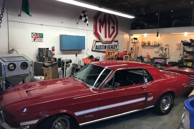 1968 Mustang GT/CS (California Special) Coupe Hire CA