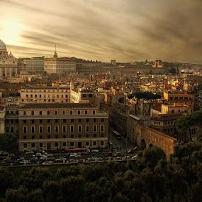 St. Peter Rome, Italy by Jon de Guzman Jr - Landscapes Travel