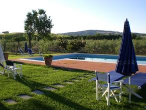 Photo: Il nostro giardino con piscina vicino saturnia agriturismo