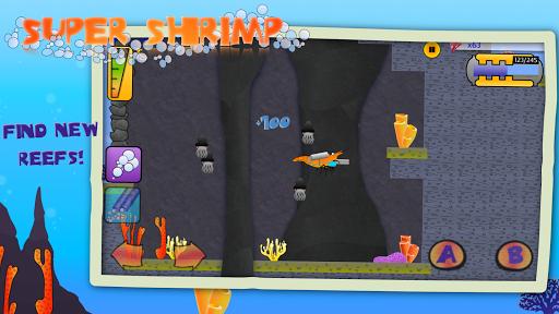 Télécharger Gratuit Super Shrimp: Ocean Platformer apk mod screenshots 2