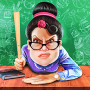 Hello Crazy Scary School Teacher 3D: Spooky Games