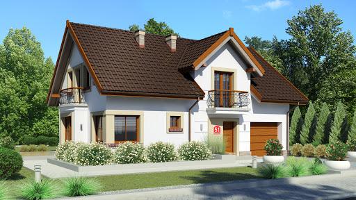 projekt Dom przy Alabastrowej 51