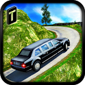 Offroad Hill Limo Driving 3D icon