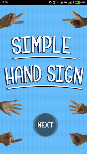 SIMPLE HAND-SIGN APPLICATION