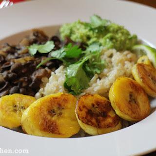 Boozy Black Bean & Rice Bowls