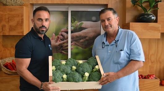 Campojoyma se lanza al mercado del brócoli bio con el mejor productor de España